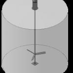 Устройство для перемешивания водного раствора формальдегида