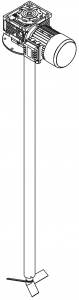 мешалка трехлопастная