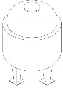 корпус реактора этинилирования