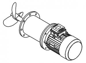 мешалка для емкости РВС-5000