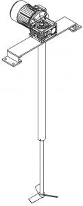 мешалка флотационной установки