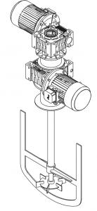 мешалка реактора этинилирования