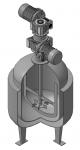 Реактор этинилирования с комбинированной мешалкой