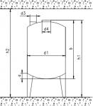 Мешалка шнековая для изготовления битумных материалов