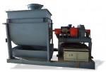 Смеситель горизонтальный с ленточной мешалкой СмГП-002