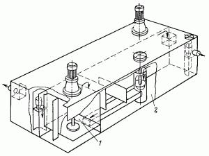 смесительно-отстойный реактор